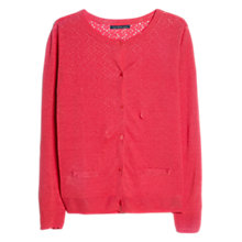 Buy Violeta by Mango Broderie Anglaise Cardigan Online at johnlewis.com