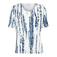 Buy Windsmoor Sorrento Crinkle Top, Ivory Online at johnlewis.com