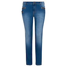 Buy Violeta by Mango Slim-Fit Cadenity Jeans Online at johnlewis.com