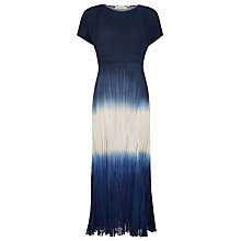 Buy Windsmoor Ombre Crinkle Dress, Indigo Online at johnlewis.com