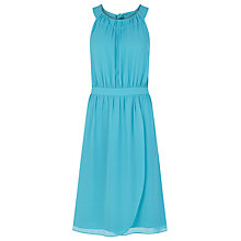 Buy Kaliko Halter Neck Wrap Dress, Turquoise Online at johnlewis.com