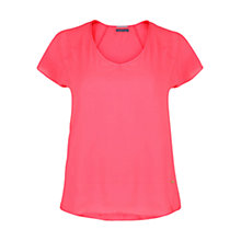 Buy Violeta by Mango V-Neck T-Shirt Online at johnlewis.com