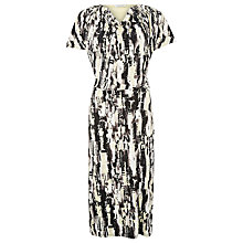 Buy Windsmoor Lunar Print Jersey Dress, Multi Black Online at johnlewis.com