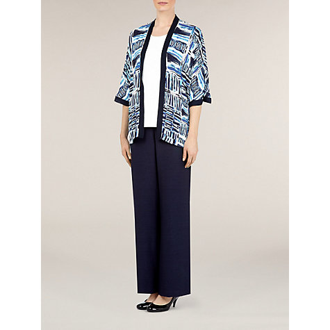 Buy Windsmoor Amalfi Print Kimono, Multi Blue Online at johnlewis.com