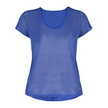Buy Violeta by Mango Open-Knit Top Online at johnlewis.com