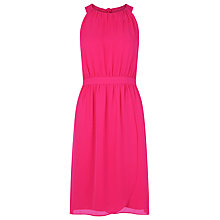 Buy Kaliko Halter Neck Wrap Dress, Raspberry Online at johnlewis.com