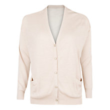 Buy Violeta by Mango Linen-Blend Cardigan Online at johnlewis.com