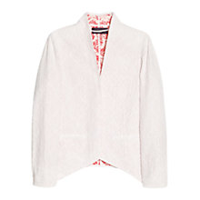 Buy Violeta by Mango Broderie Anglaise Jacket, White Online at johnlewis.com
