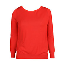 Buy Violeta by Mango Silk Cotton Blend Jumper Online at johnlewis.com