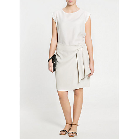 Buy Violeta by Mango Bow Skirt, Beige Online at johnlewis.com