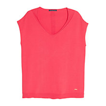 Buy Violeta by Mango Ribbed Cotton Jumper Online at johnlewis.com