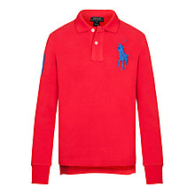 Buy Polo Ralph Lauren Boys Long Sleeve Polo Shirt Online at johnlewis.com