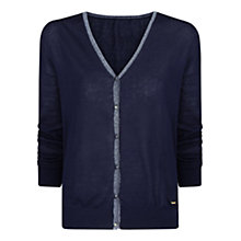 Buy Violeta by Mango Metallic Trim Cardigan Online at johnlewis.com