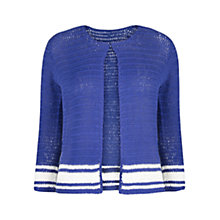 Buy Violeta by Mango Striped Openwork Cardigan Online at johnlewis.com