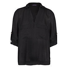 Buy Violeta by Mango Pocket Flowy Blouse Online at johnlewis.com