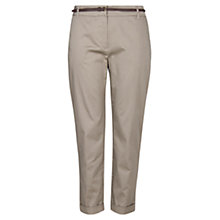 Buy Violeta by Mango Belted Trousers Online at johnlewis.com