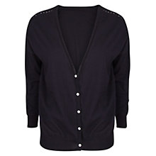 Buy Violeta by Mango Cotton Openwork Cardigan Online at johnlewis.com
