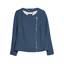 Buy Violeta by Mango Fantasy Washed Zip-Through Jacket Online at johnlewis.com