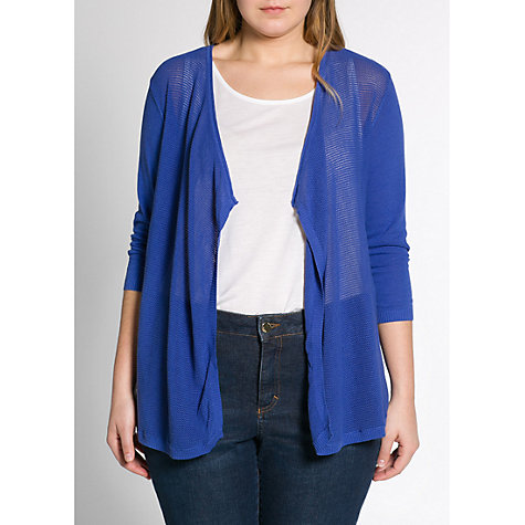 Buy Violeta by Mango Open Knit Cardigan Online at johnlewis.com