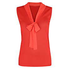 Buy Violeta by Mango Silk-Blend Top Online at johnlewis.com