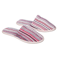 Buy John Lewis Spirit Stripe Slippers Online at johnlewis.com