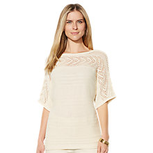 Buy Lauren Ralph Lauren Jozina Sweater, Belle Cream Online at johnlewis.com