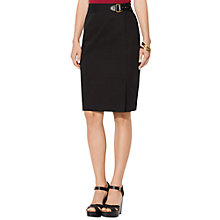 Buy Lauren Ralph Lauren Ira Skirt, Black Online at johnlewis.com