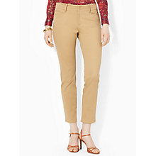 Buy Lauren Ralph Lauren Vashelle Trousers, Khaki Online at johnlewis.com