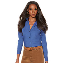 Buy Lauren Ralph Lauren Shirt, Midnight Indigo Online at johnlewis.com
