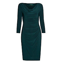 Buy Lauren Ralph Lauren Vallari Dress, Racing Green Online at johnlewis.com