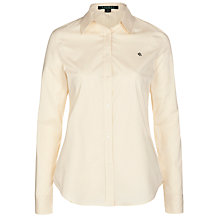 Buy Lauren Ralph Lauren Jamir Shirt, Belle Cream Online at johnlewis.com