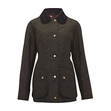 Buy Barbour Casisson Beadnell Waxed Coat, Winter Candlebridge Online at johnlewis.com