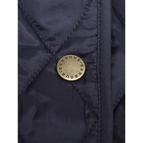 Buy Barbour Spring Annandale Quilted Jacket, Navy Online at johnlewis.com