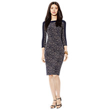 Buy Lauren Ralph Lauren Drew Dress, Tan/Navy Online at johnlewis.com