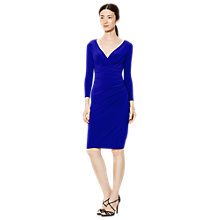 Buy Lauren Ralph Lauren Elsie Dress, Deep Azure Online at johnlewis.com