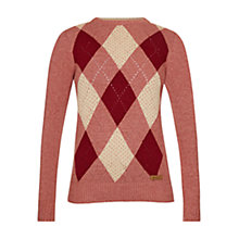 Buy Barbour Badminton Jumper, Wild Ginger Online at johnlewis.com