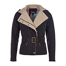 Buy Barbour International Matlock Wax Jacket, Rustic/Natural Online at johnlewis.com