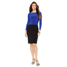 Buy Lauren Ralph Lauren Roderick Dress, Black/Azure Online at johnlewis.com