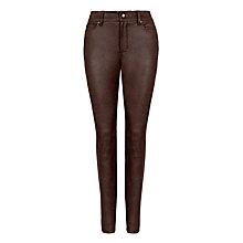 Buy NYDJ Faux Leather Jeggings, Kodiak Online at johnlewis.com