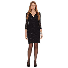 Buy Lauren Ralph Lauren Bella Dress, Black Online at johnlewis.com