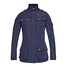 Buy Barbour Whistlefield Jacket, Navy Online at johnlewis.com