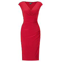 Buy Lauren Ralph Lauren Adara Dress, Lake House Red Online at johnlewis.com