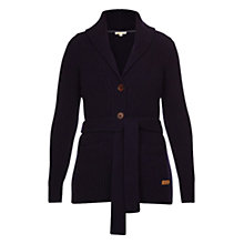 Buy Barbour Burghley Cardi, Navy Online at johnlewis.com