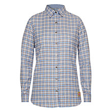 Buy Barbour Craft Check Shirt, Chambray Online at johnlewis.com