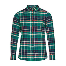 Buy Barbour Iris Shirt, Green Online at johnlewis.com