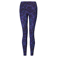 Buy Lyssé Leggings Python Print Leggings, Purple Online at johnlewis.com