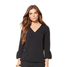 Buy Lauren Ralph Lauren Top, Black Online at johnlewis.com