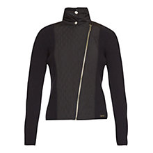 Buy Barbour Marianne Blazer, Black Online at johnlewis.com