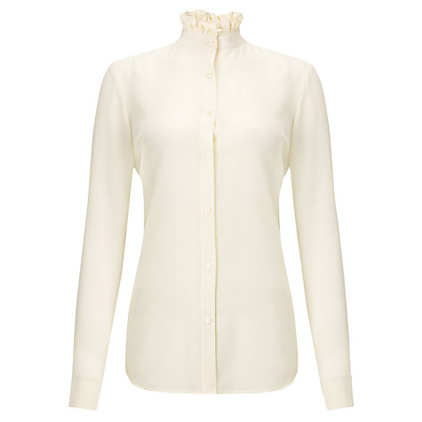 Buy Lauren Ralph Lauren Dalmira Shirt, Modern Cream Online at johnlewis.com