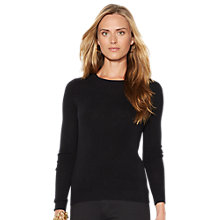 Buy Lauren Ralph Lauren Evangelina Crewneck Jumper Online at johnlewis.com